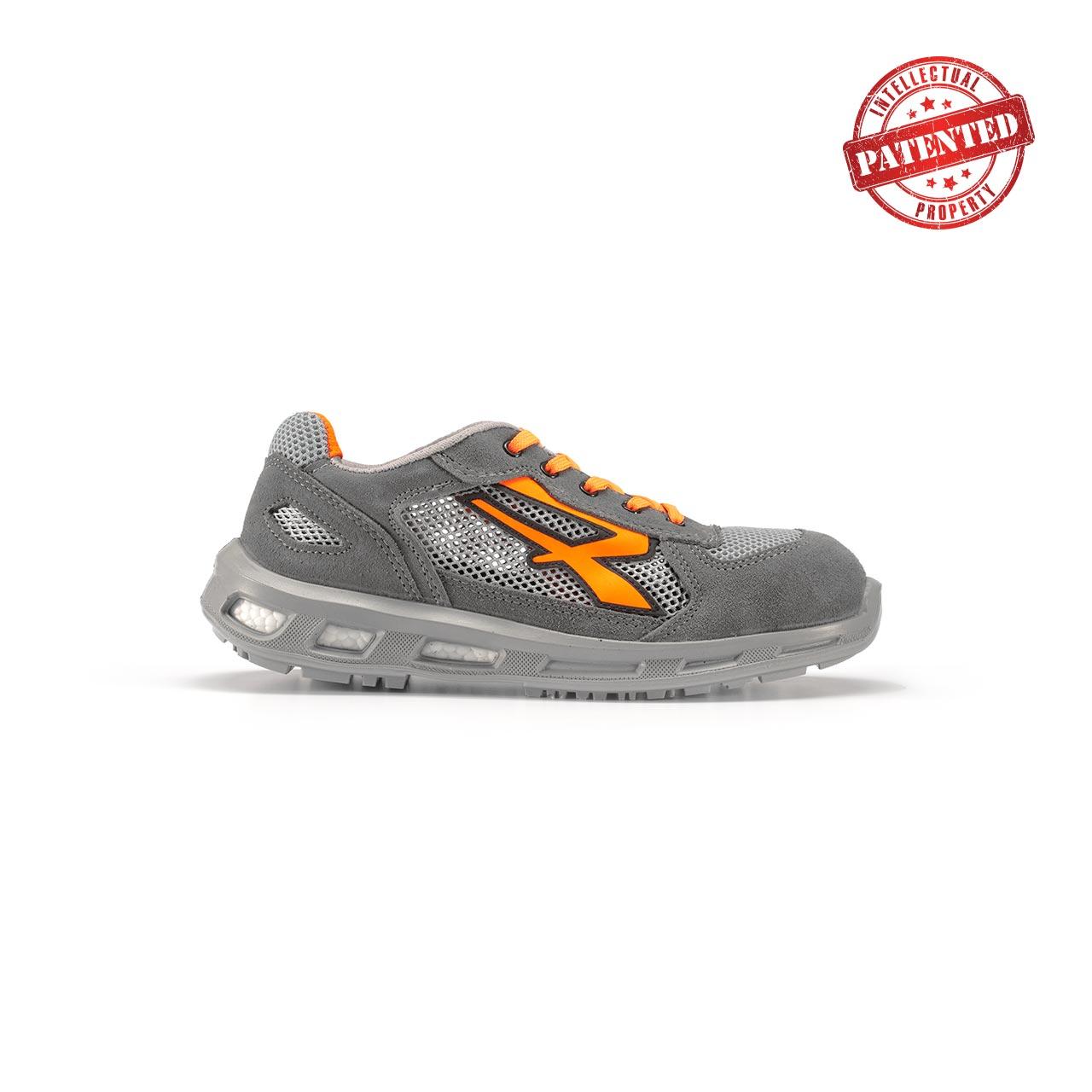 calzatura da lavoro upower modello ultra linea redlion vista lato destro