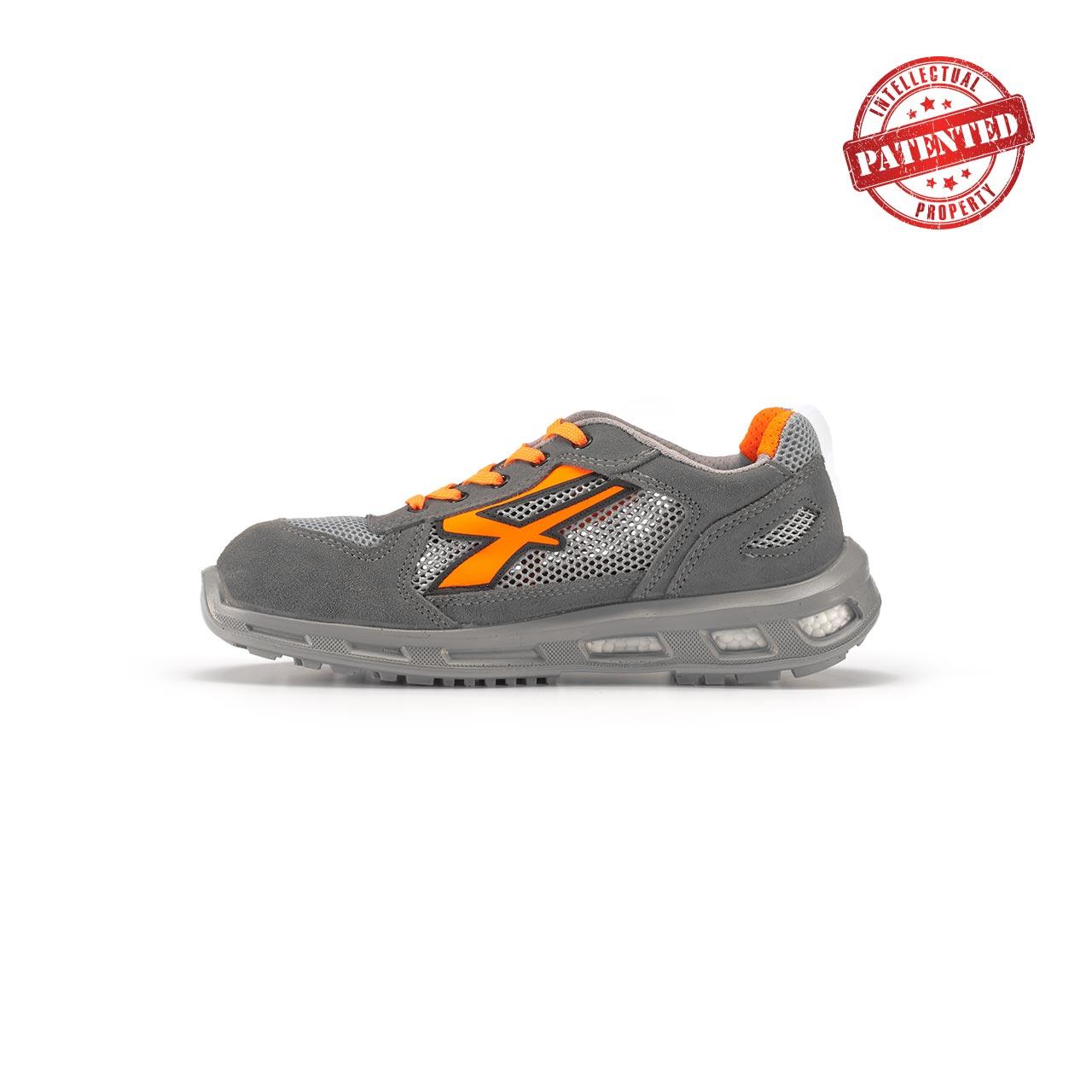 calzatura da lavoro upower modello ultra linea redlion vista lato sinistra