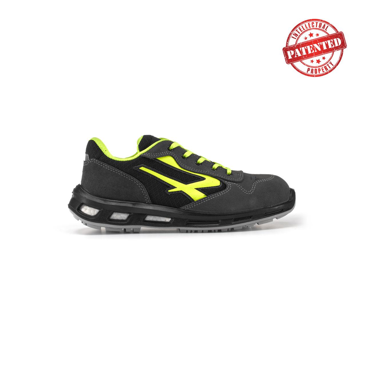calzatura da lavoro upower modello yellow linea redlion vista lato destro