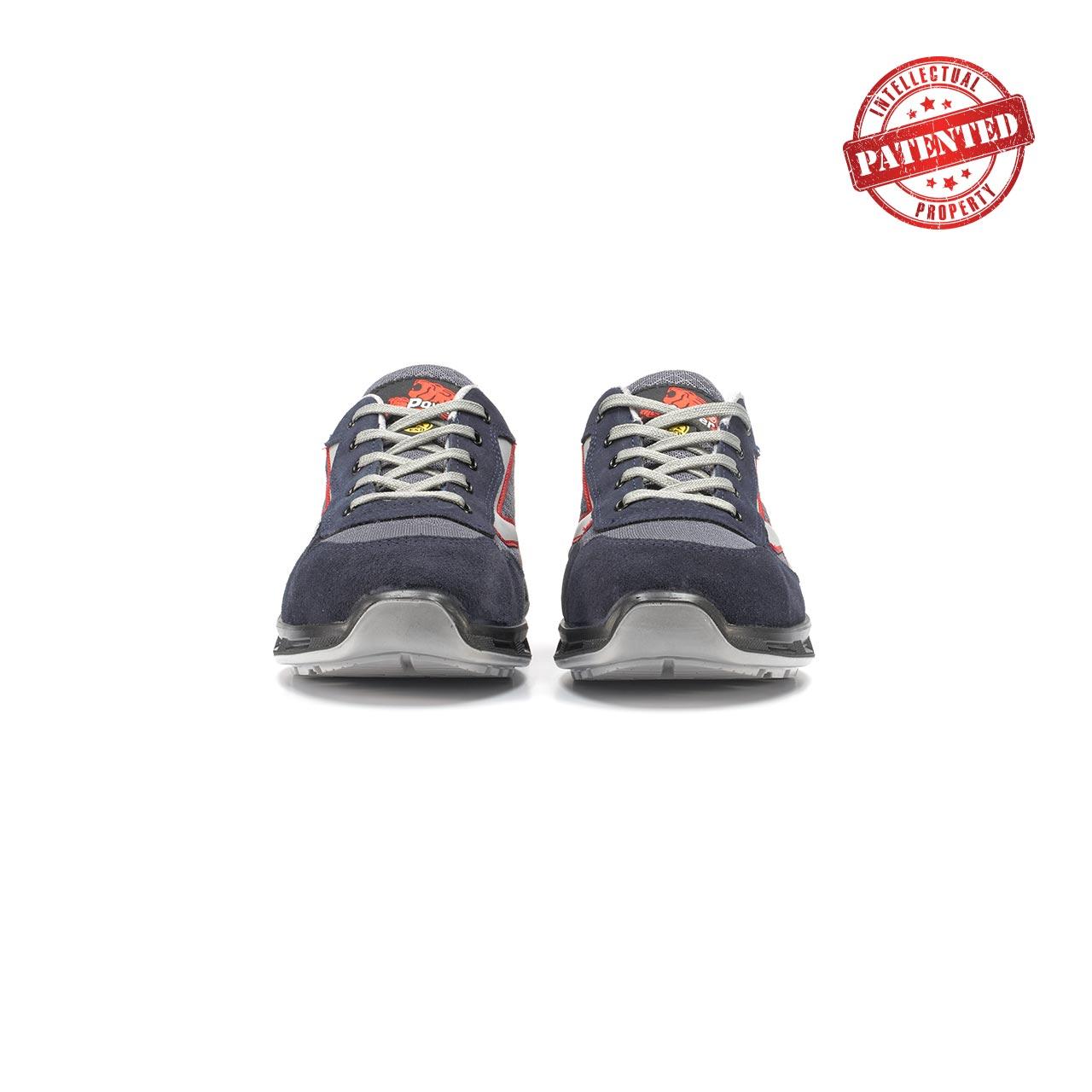 paio di scarpe antinfortunistiche upower modello active linea redlion vista frontale
