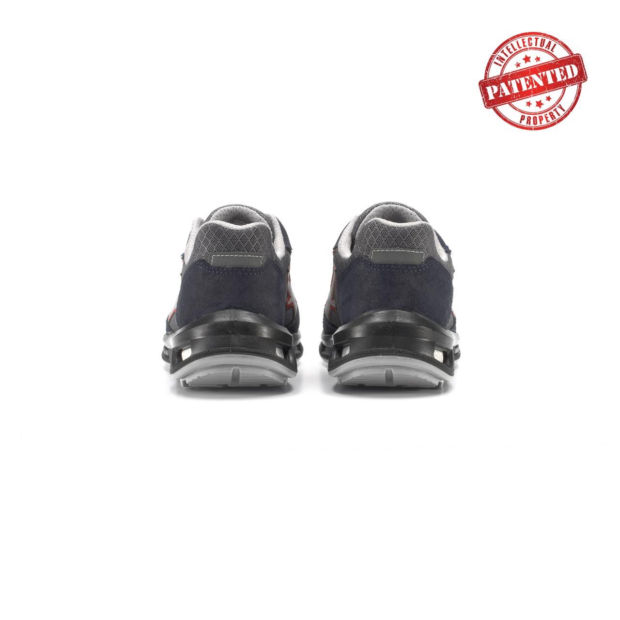 paio di scarpe antinfortunistiche upower modello active linea redlion vista retro