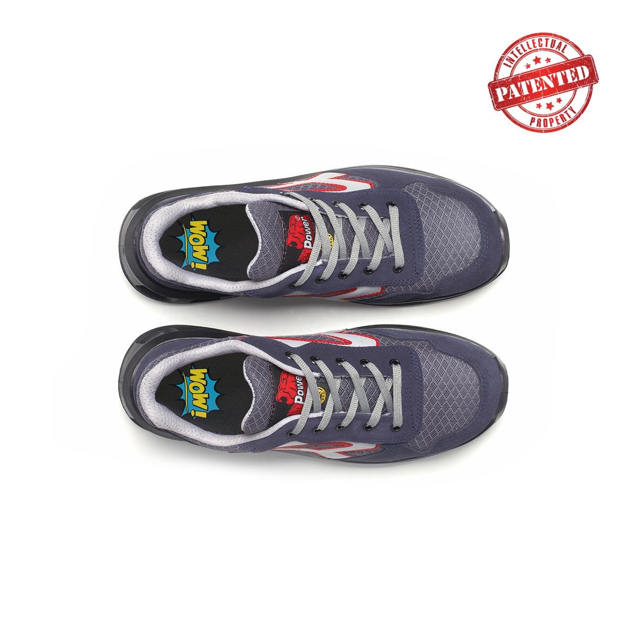 paio di scarpe antinfortunistiche upower modello active linea redlion vista top