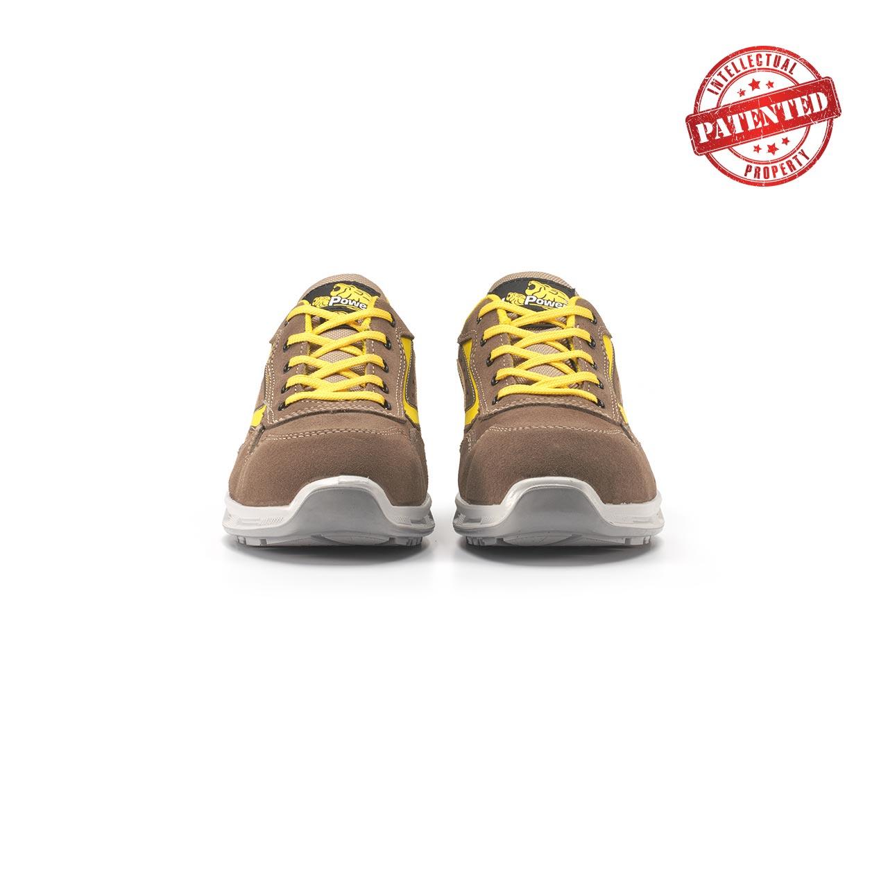 paio di scarpe antinfortunistiche upower modello adventure linea redlion vista frontale