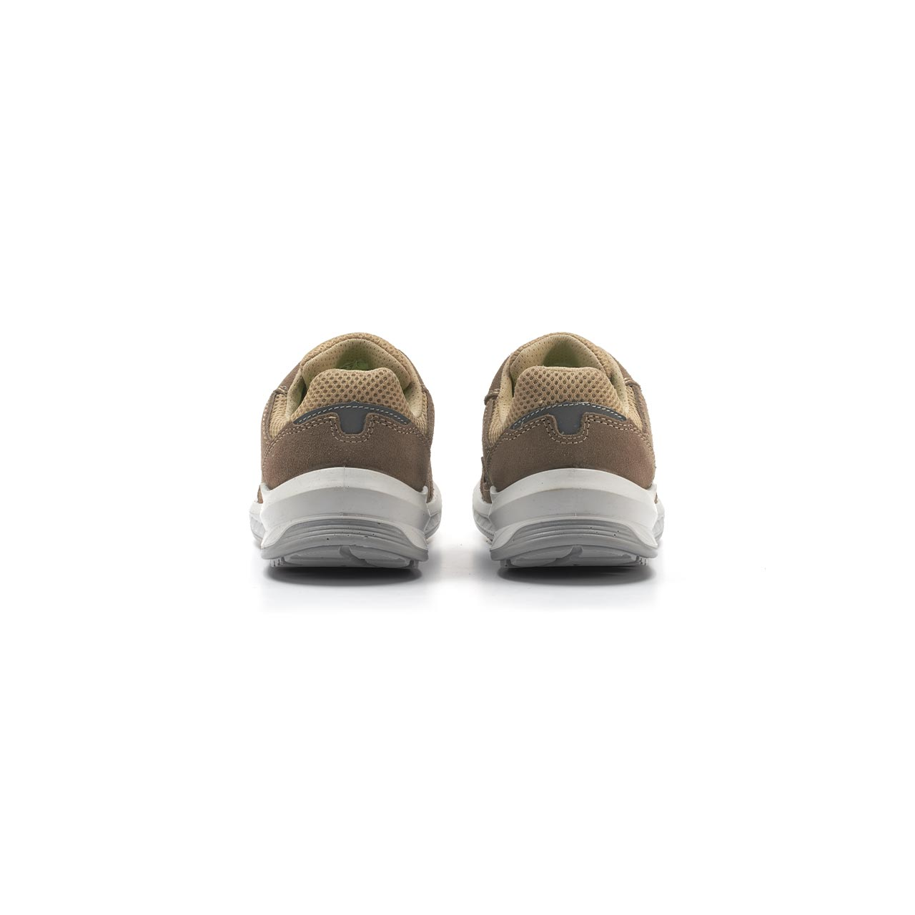paio di scarpe antinfortunistiche upower modello aerator linea redindustry vista retro