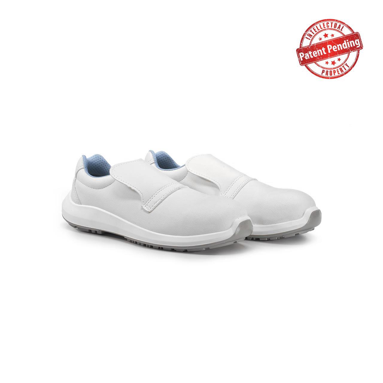 paio di scarpe antinfortunistiche upower modello antares linea redup vista prospettica
