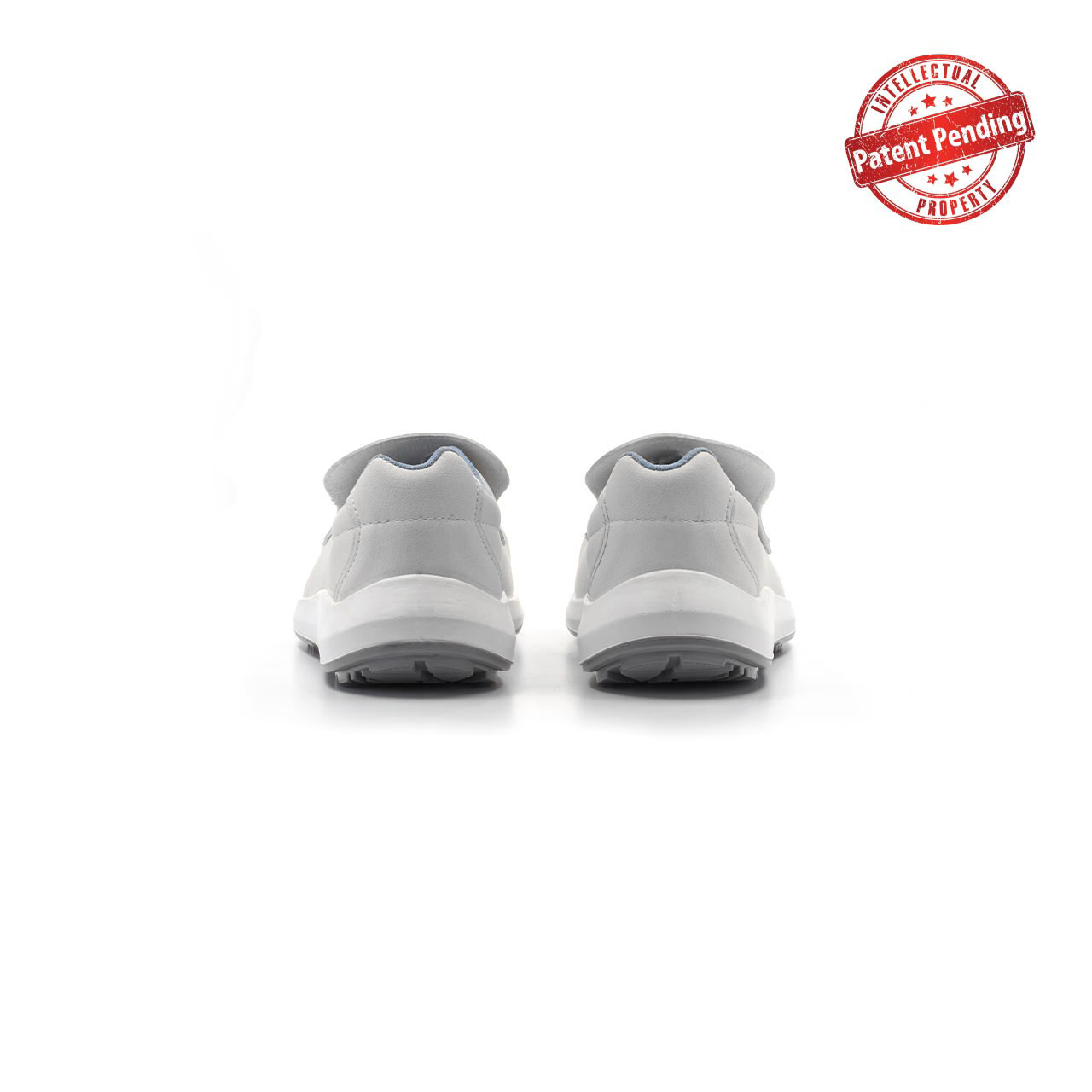 paio di scarpe antinfortunistiche upower modello antares linea redup vista retro