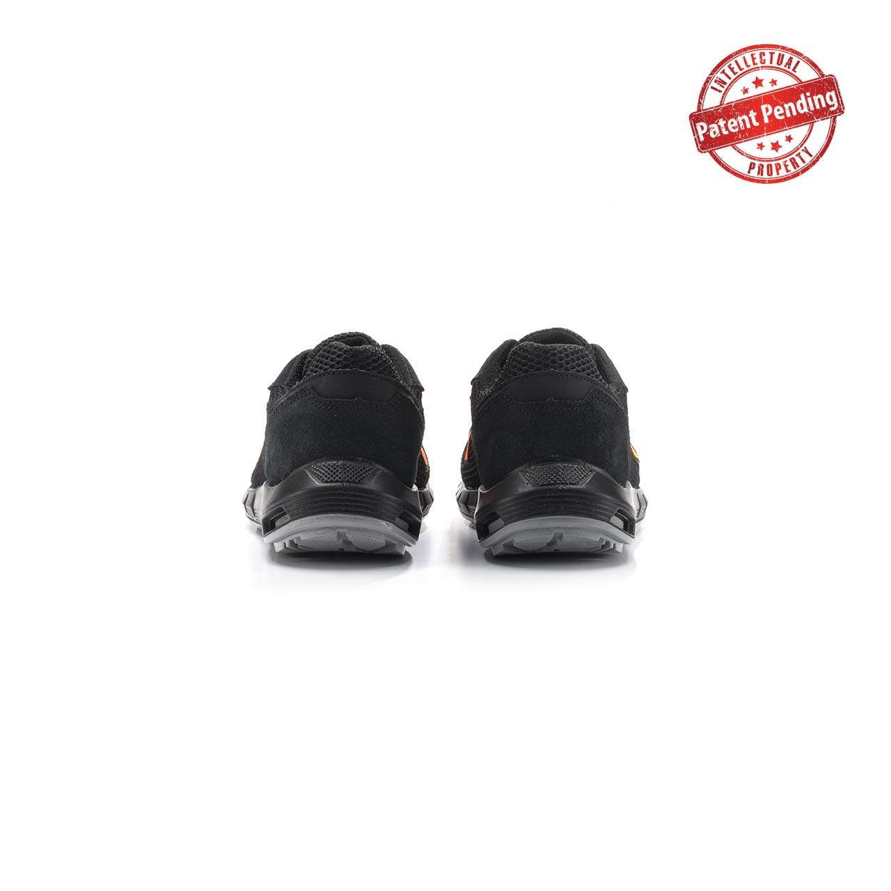 paio di scarpe antinfortunistiche upower modello atos linea redup plus vista retro