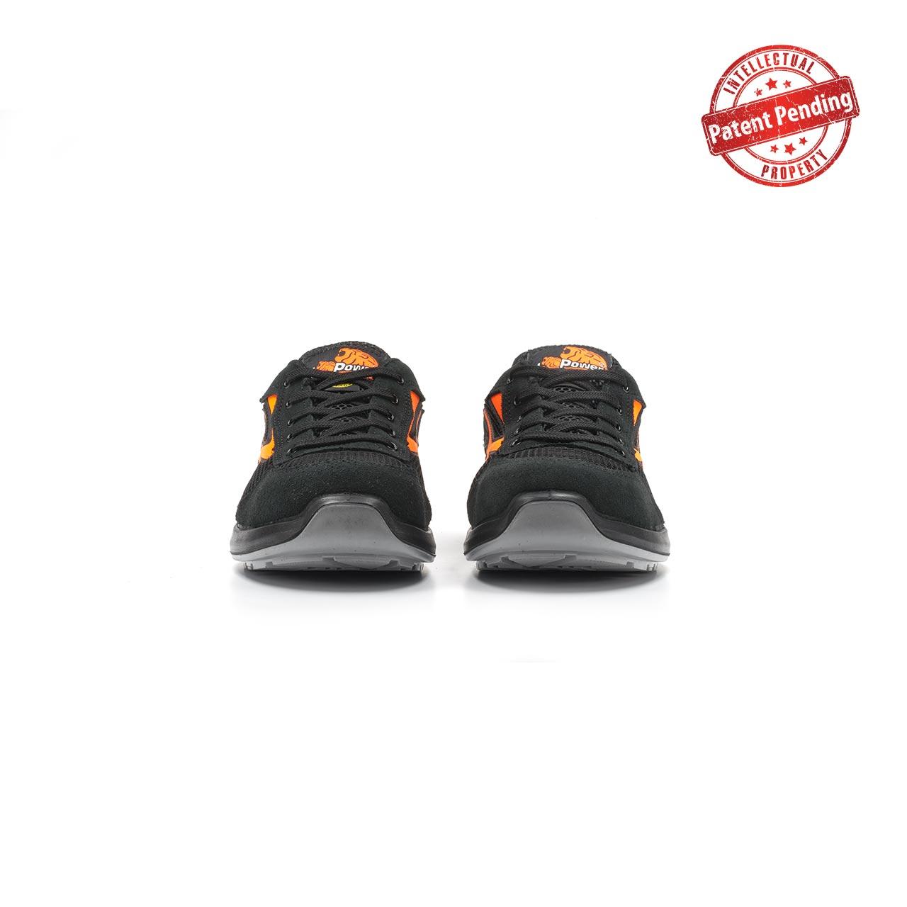 paio di scarpe antinfortunistiche upower modello atos linea redup vista frontale