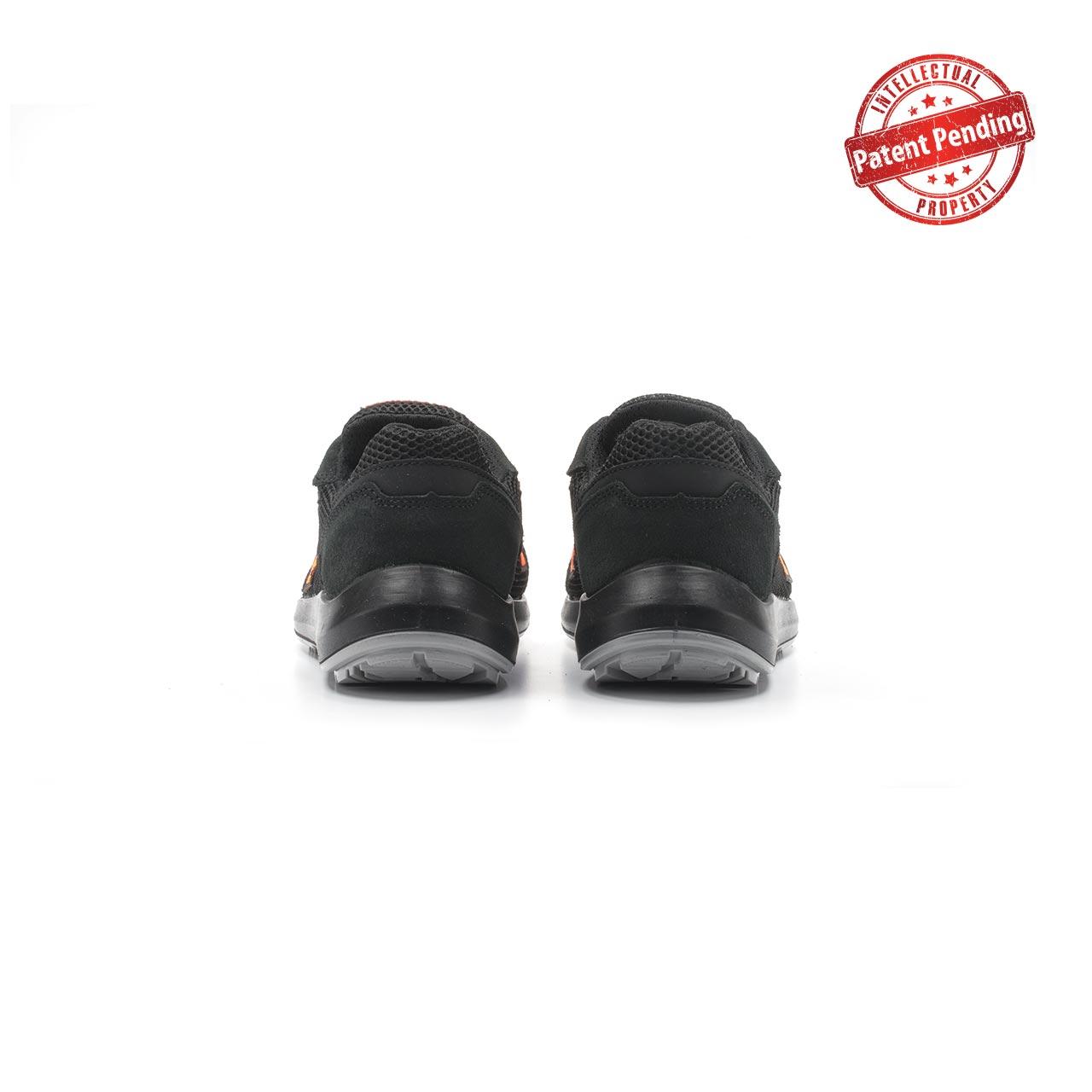 paio di scarpe antinfortunistiche upower modello atos linea redup vista retro