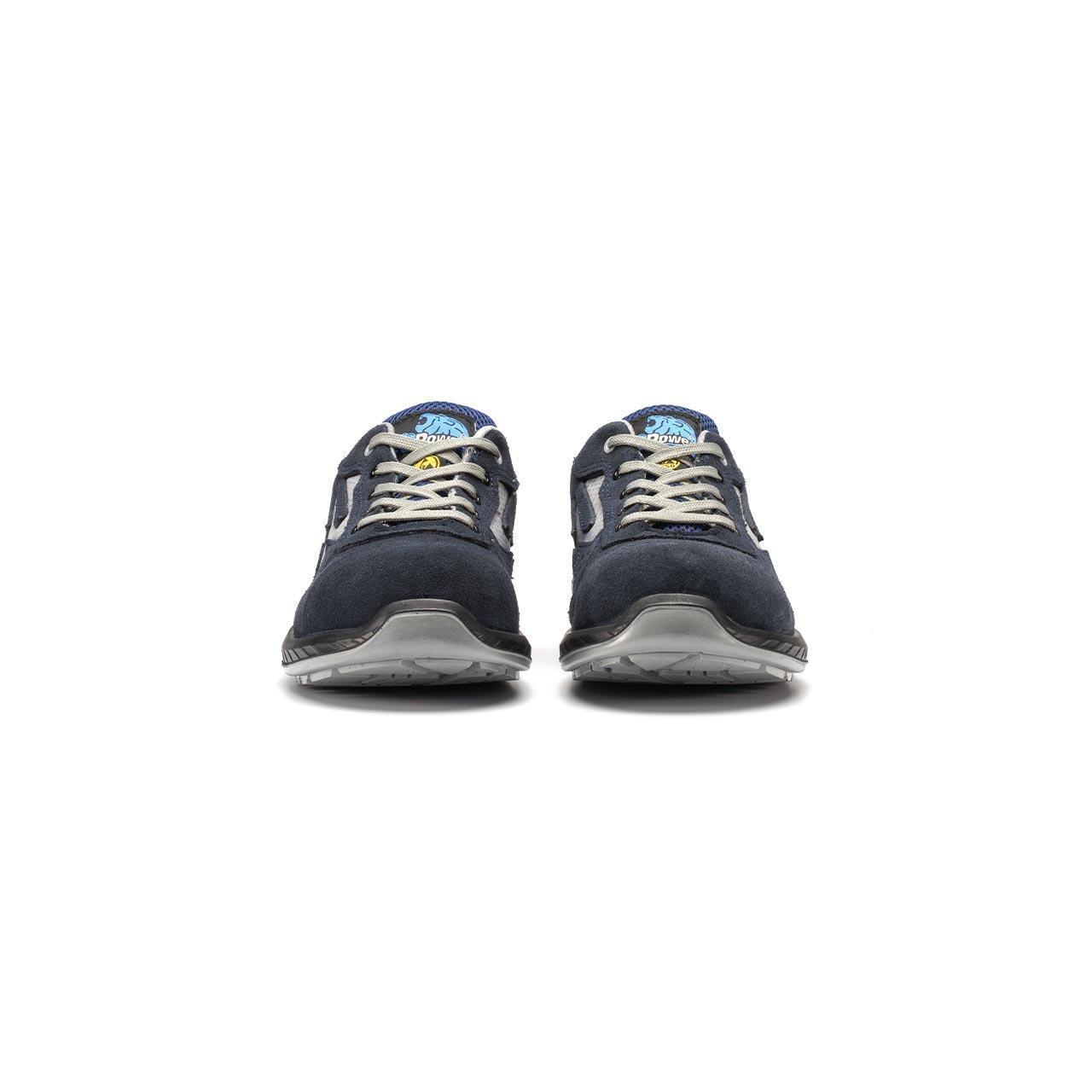 paio di scarpe antinfortunistiche upower modello berlino linea redindustry vista frontale