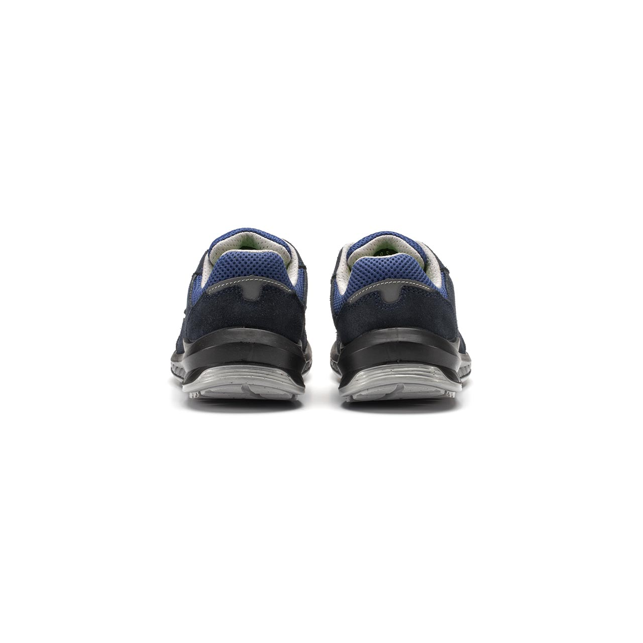 paio di scarpe antinfortunistiche upower modello berlino linea redindustry vista retro