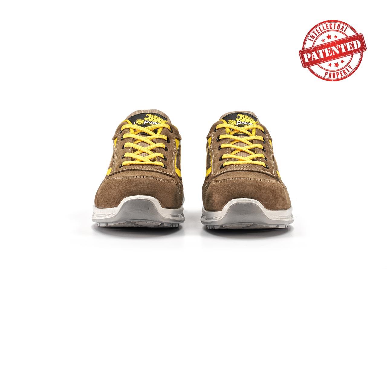 paio di scarpe antinfortunistiche upower modello brave linea redlion vista frontale