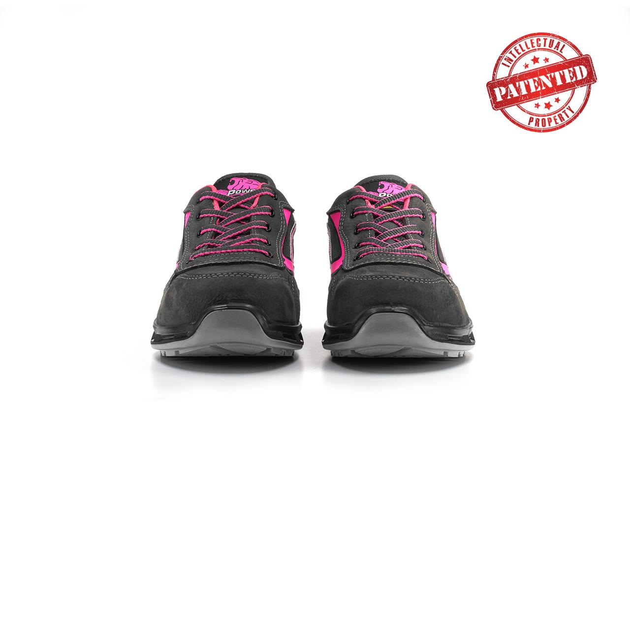 paio di scarpe antinfortunistiche upower modello candy linea redlion vista frontale