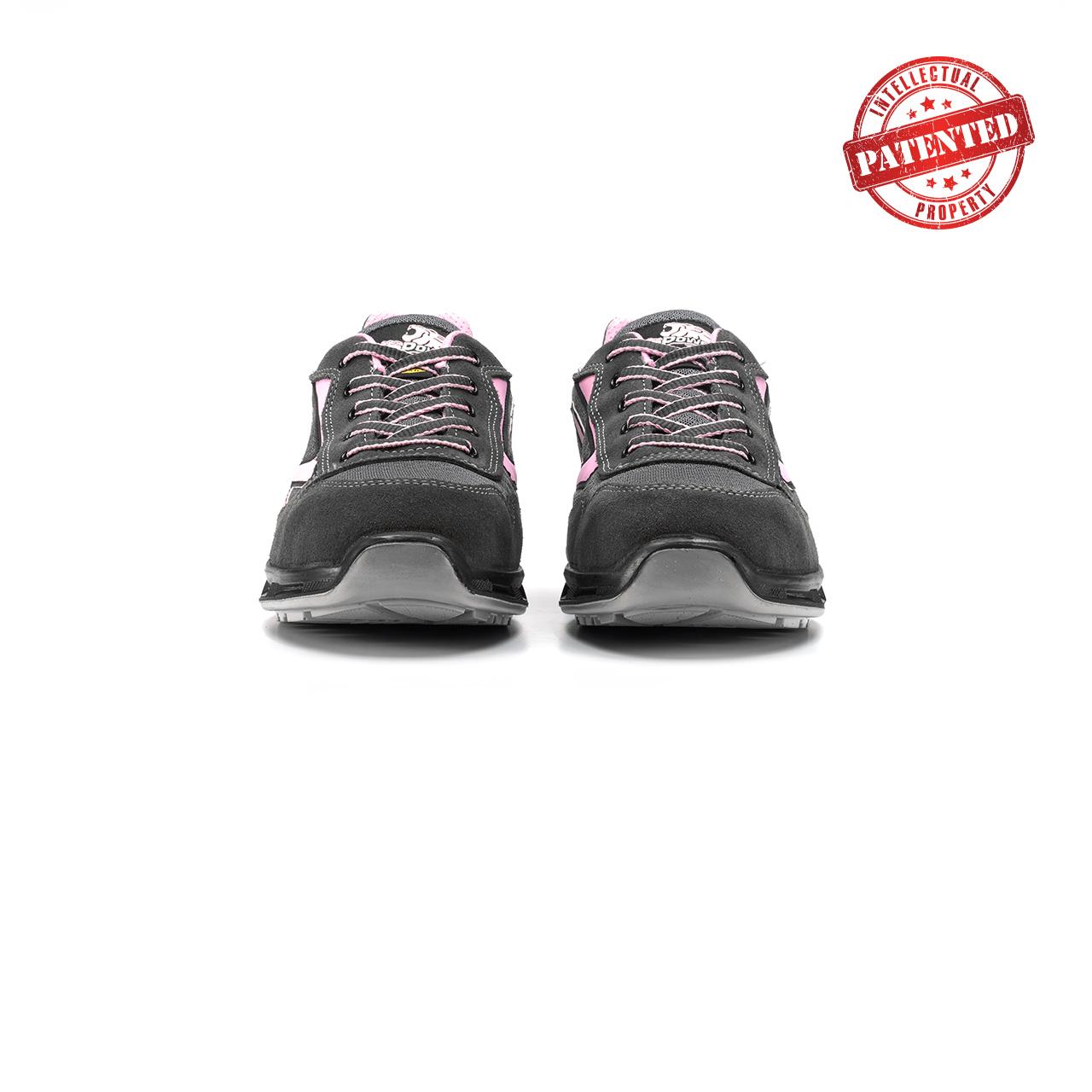 paio di scarpe antinfortunistiche upower modello cherry linea redlion vista frontale