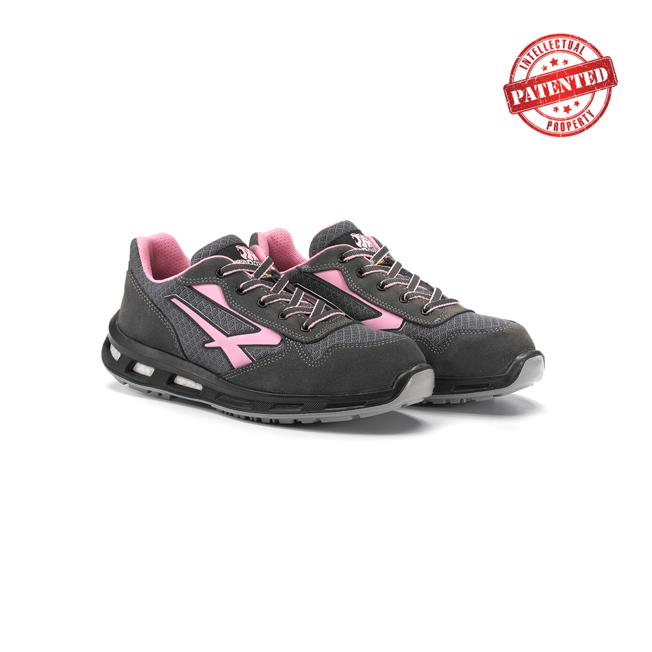 paio di scarpe antinfortunistiche upower modello cherry linea redlion vista prospettica