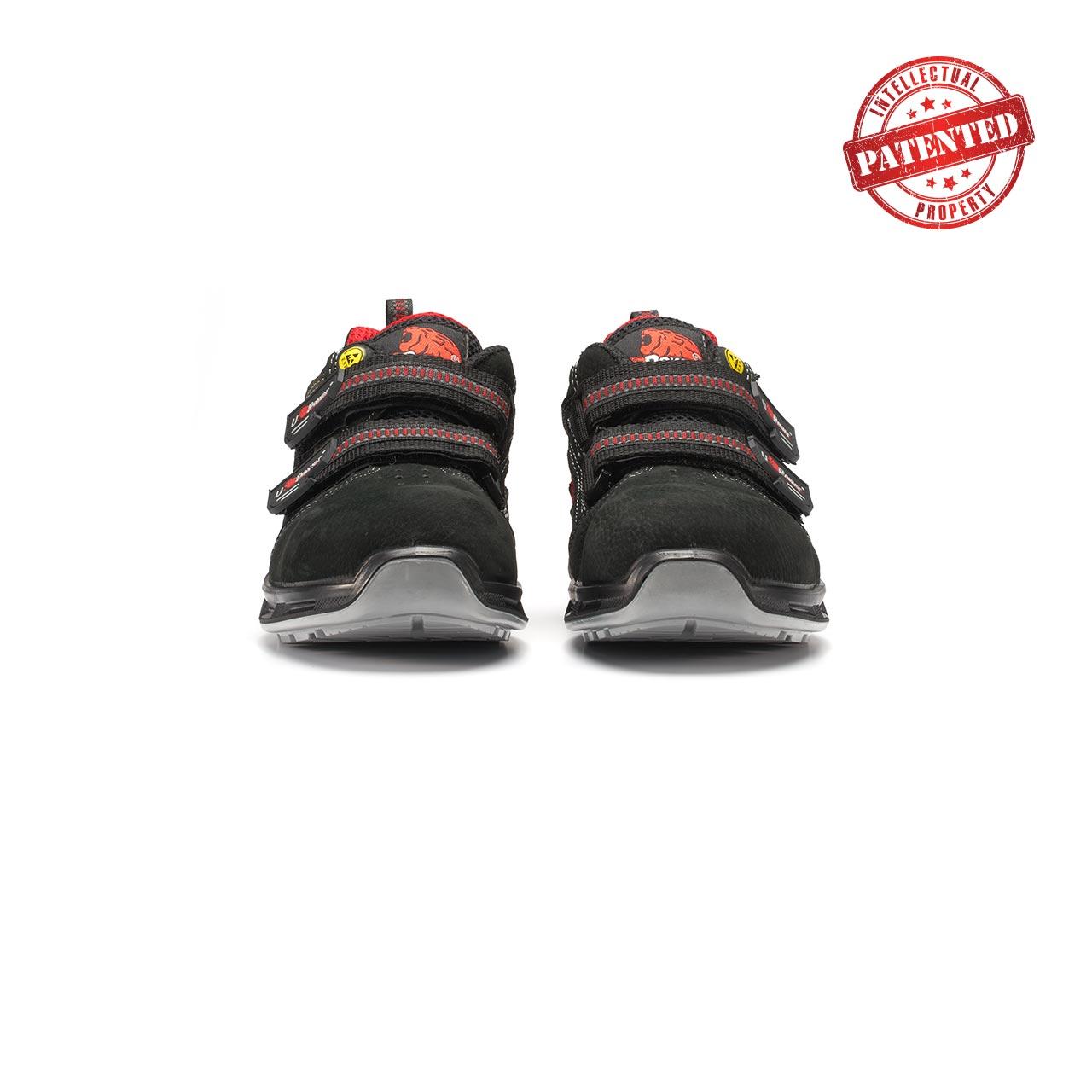 paio di scarpe antinfortunistiche upower modello cody linea redlion vista frontale