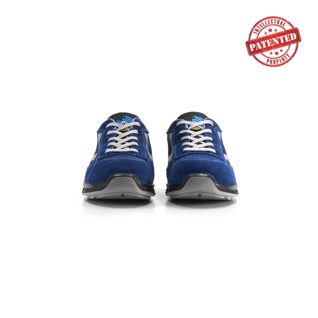 paio di scarpe antinfortunistiche upower modello dea linea redlion vista frontale