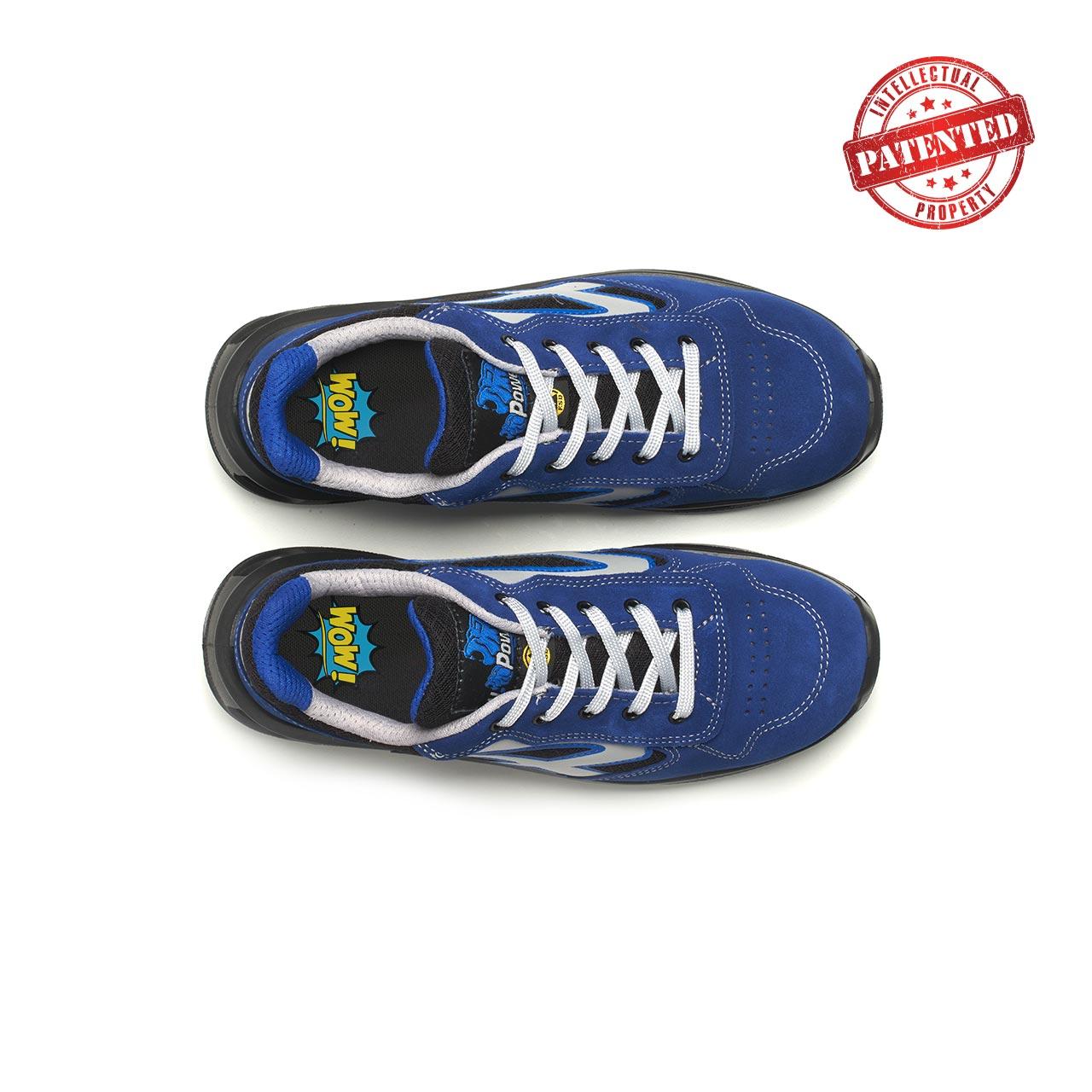 paio di scarpe antinfortunistiche upower modello dea linea redlion vista top