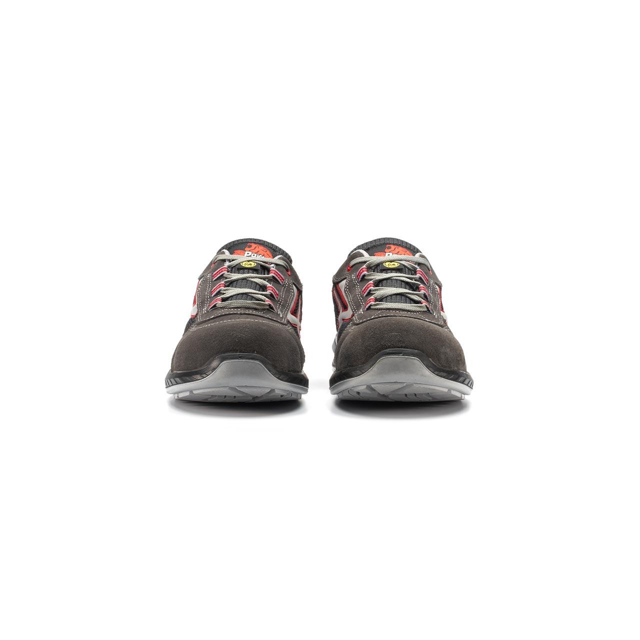 paio di scarpe antinfortunistiche upower modello demon linea redindustry vista frontale