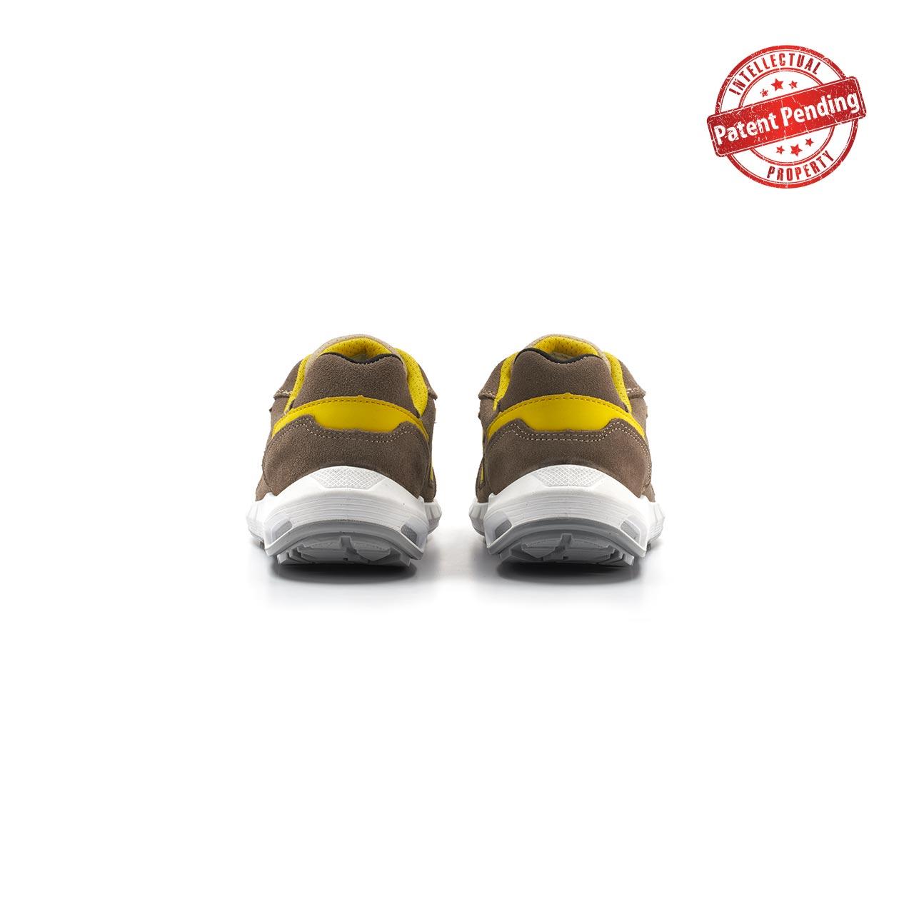 paio di scarpe antinfortunistiche upower modello dorado linea redup plus vista retro