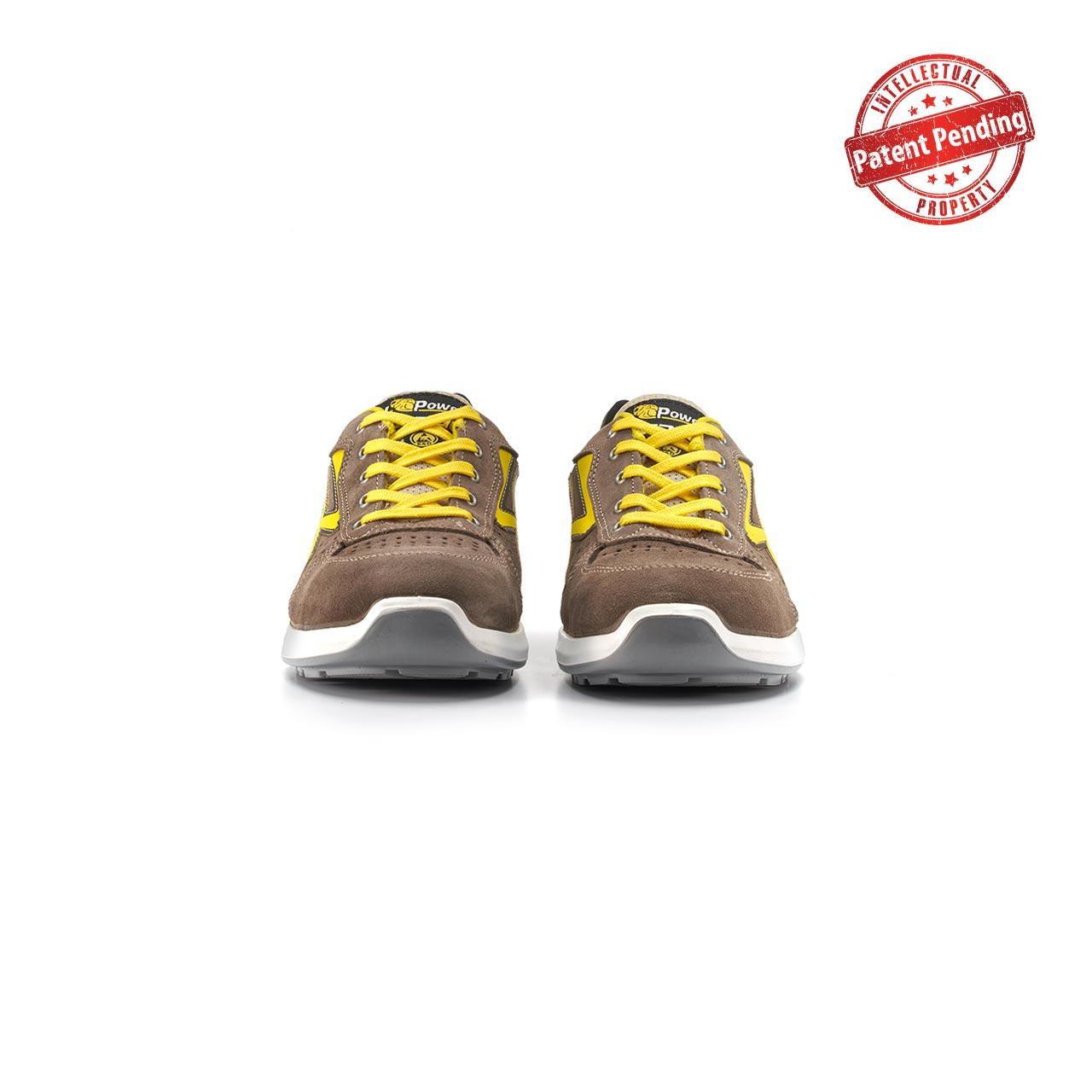 paio di scarpe antinfortunistiche upower modello dorado linea redup vista frontale