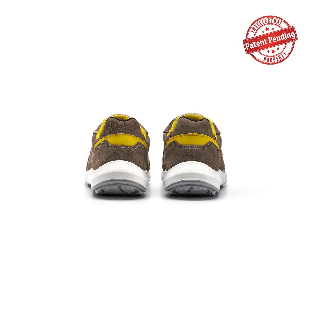 paio di scarpe antinfortunistiche upower modello dorado linea redup vista retro