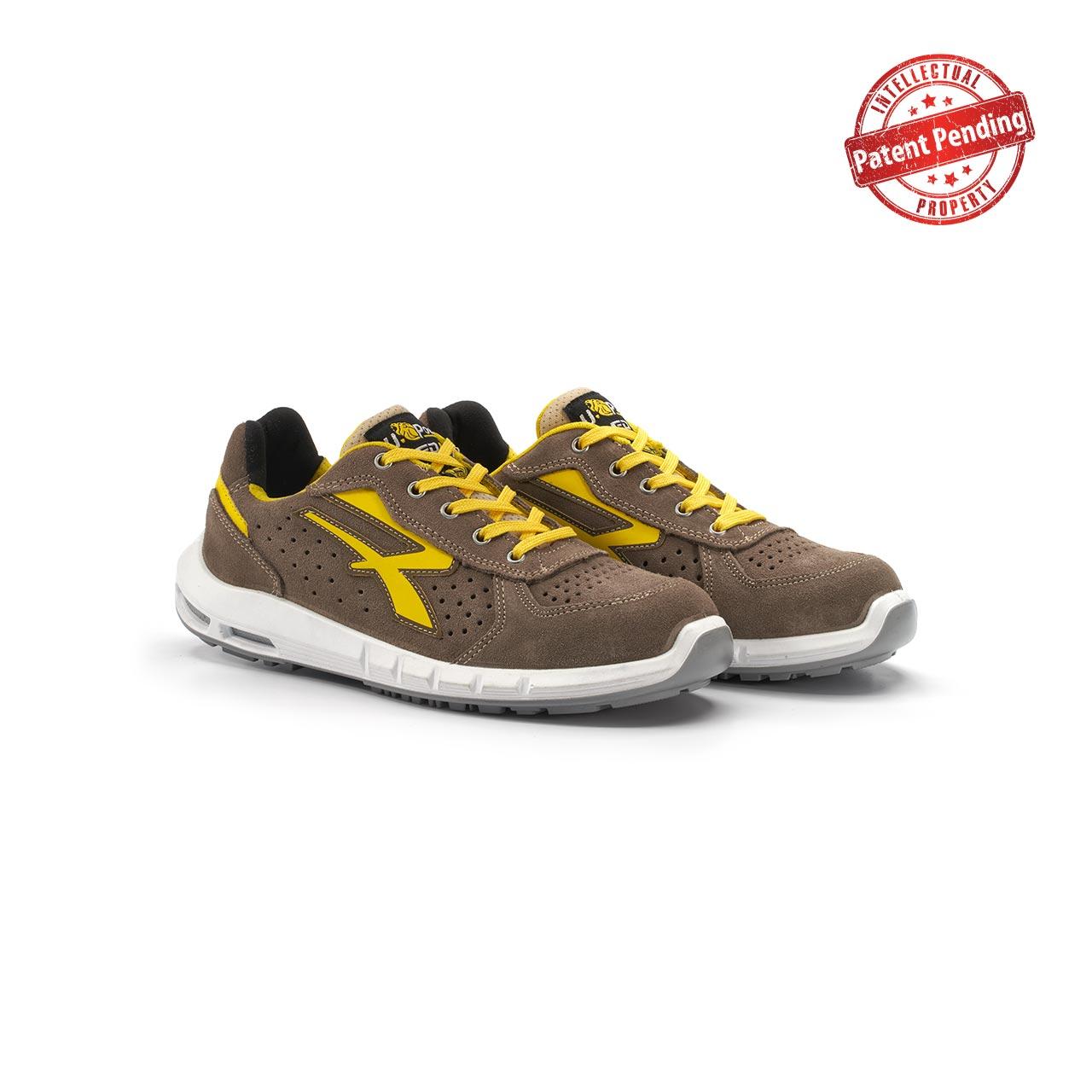 paio di scarpe antinfortunistiche upower modello dorado plus linea redup plus vista prospettica