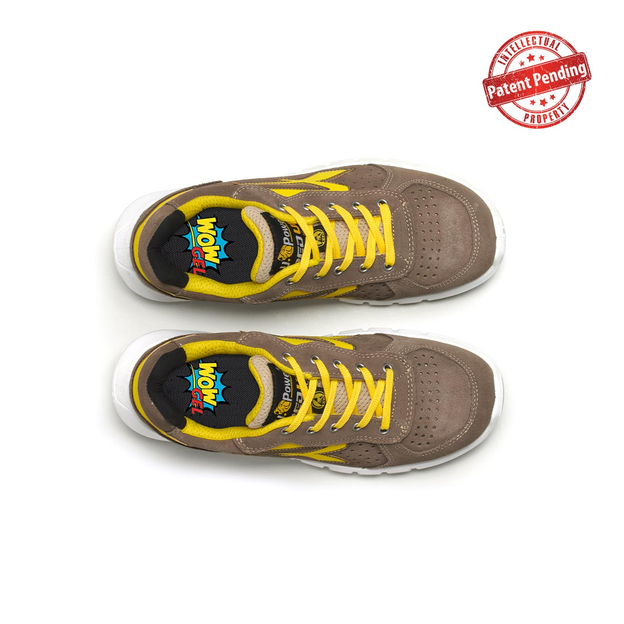 paio di scarpe antinfortunistiche upower modello dorado plus linea redup plus vista top