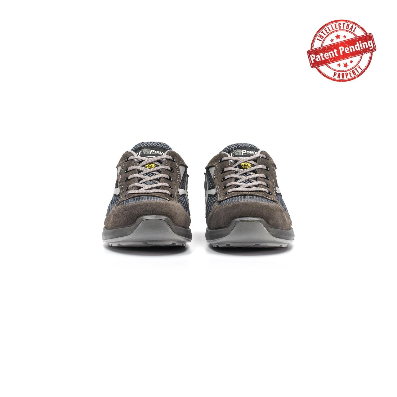 paio di scarpe antinfortunistiche upower modello draco linea redup vista frontale