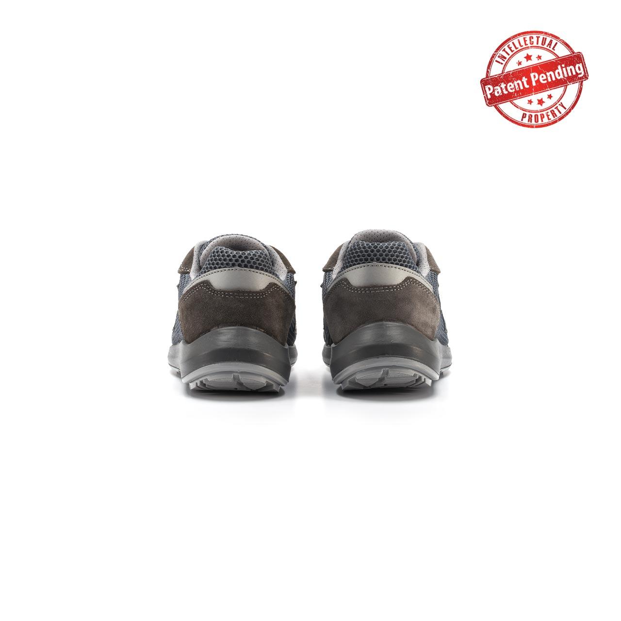 paio di scarpe antinfortunistiche upower modello draco linea redup vista retro
