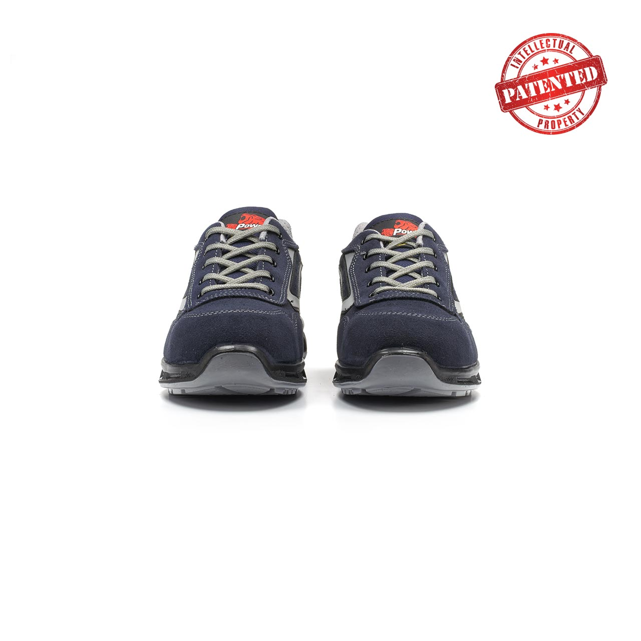 paio di scarpe antinfortunistiche upower modello emotion linea redlion vista frontale