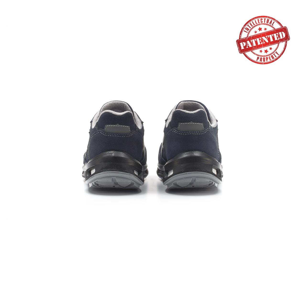 paio di scarpe antinfortunistiche upower modello emotion linea redlion vista retro
