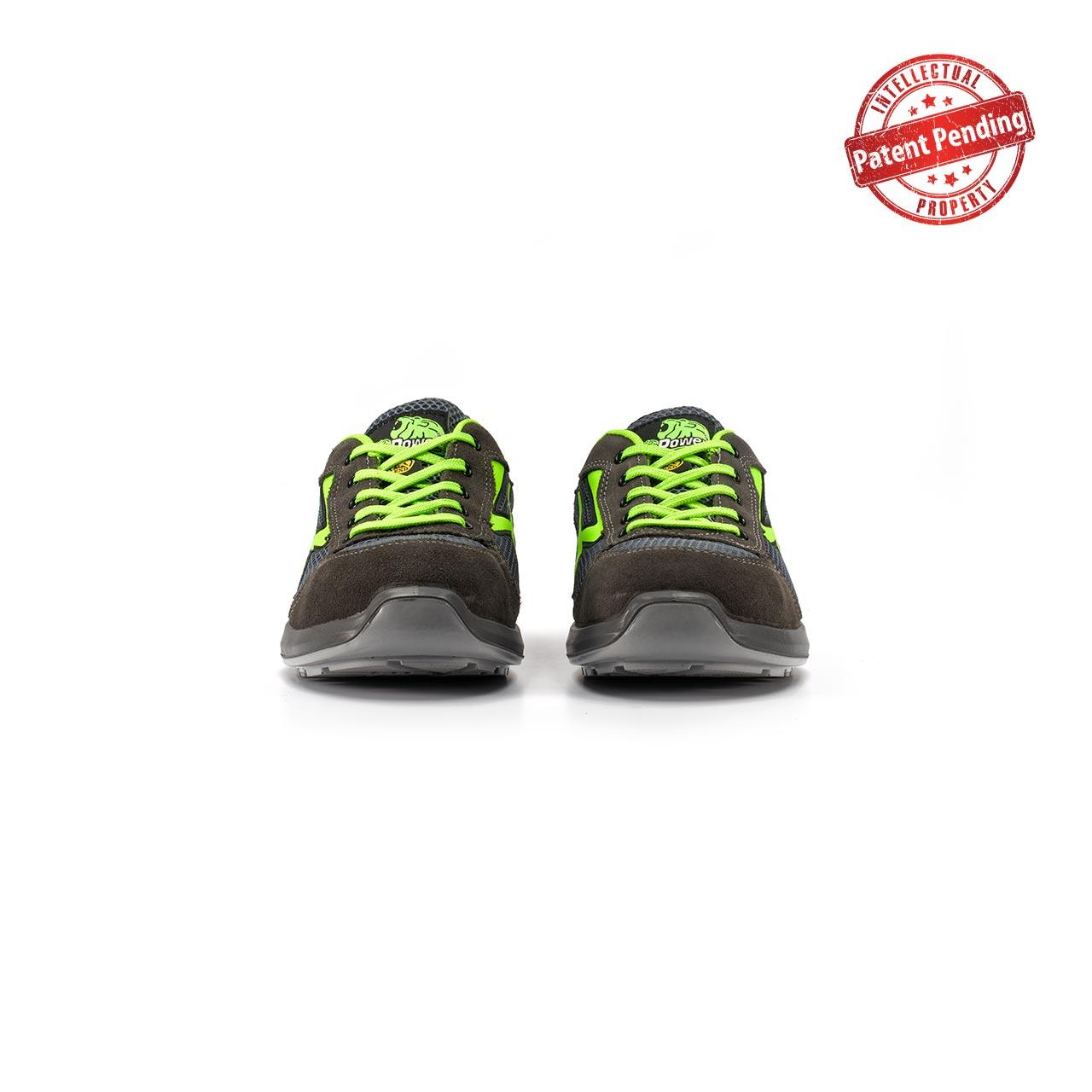 paio di scarpe antinfortunistiche upower modello gemini linea redup vista frontale