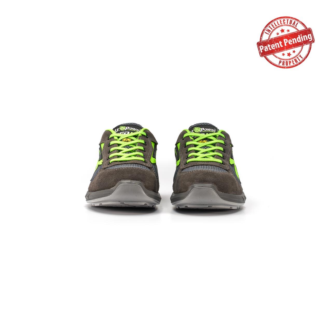 paio di scarpe antinfortunistiche upower modello gemini plus linea redup plus vista frontale