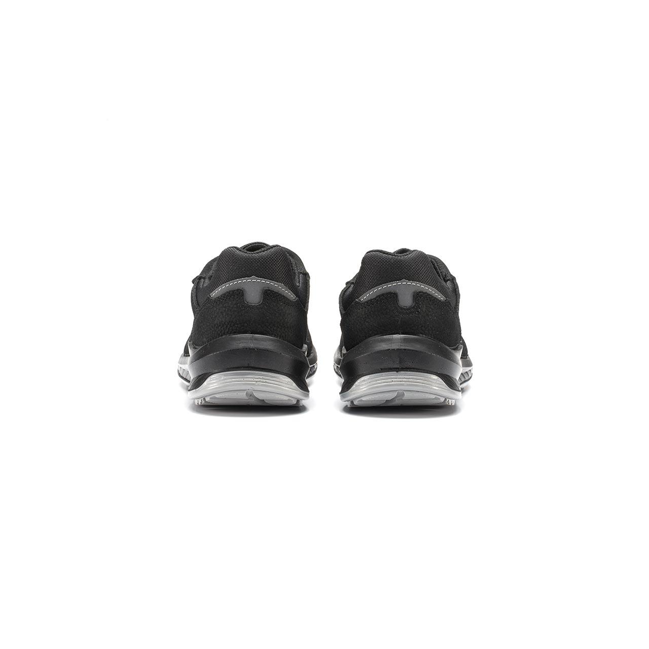 paio di scarpe antinfortunistiche upower modello gessato linea redindustry vista retro