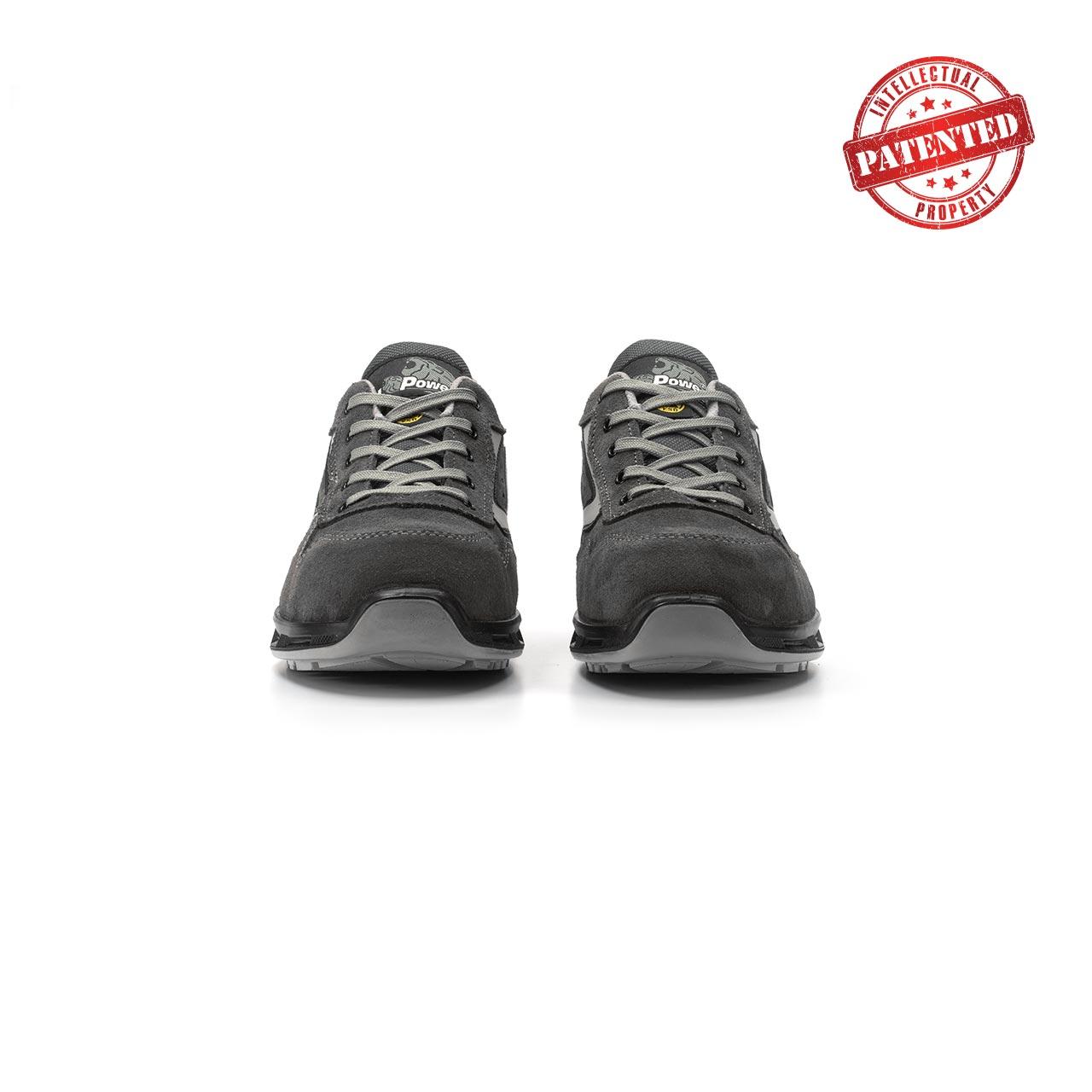 paio di scarpe antinfortunistiche upower modello going linea redlion vista frontale