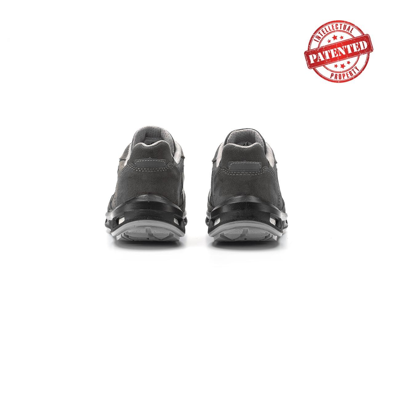paio di scarpe antinfortunistiche upower modello going linea redlion vista retro
