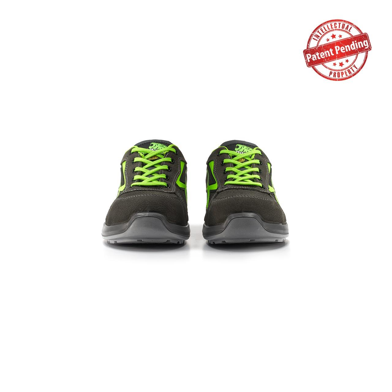 paio di scarpe antinfortunistiche upower modello hydra linea redup vista frontale