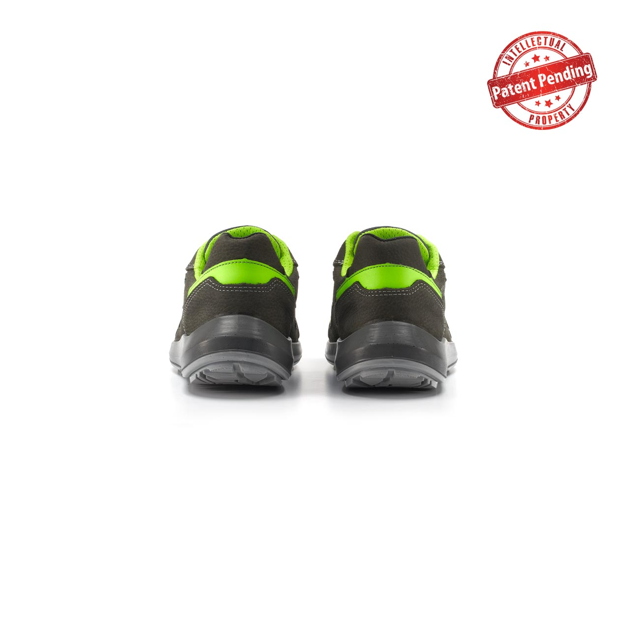 paio di scarpe antinfortunistiche upower modello hydra linea redup vista retro