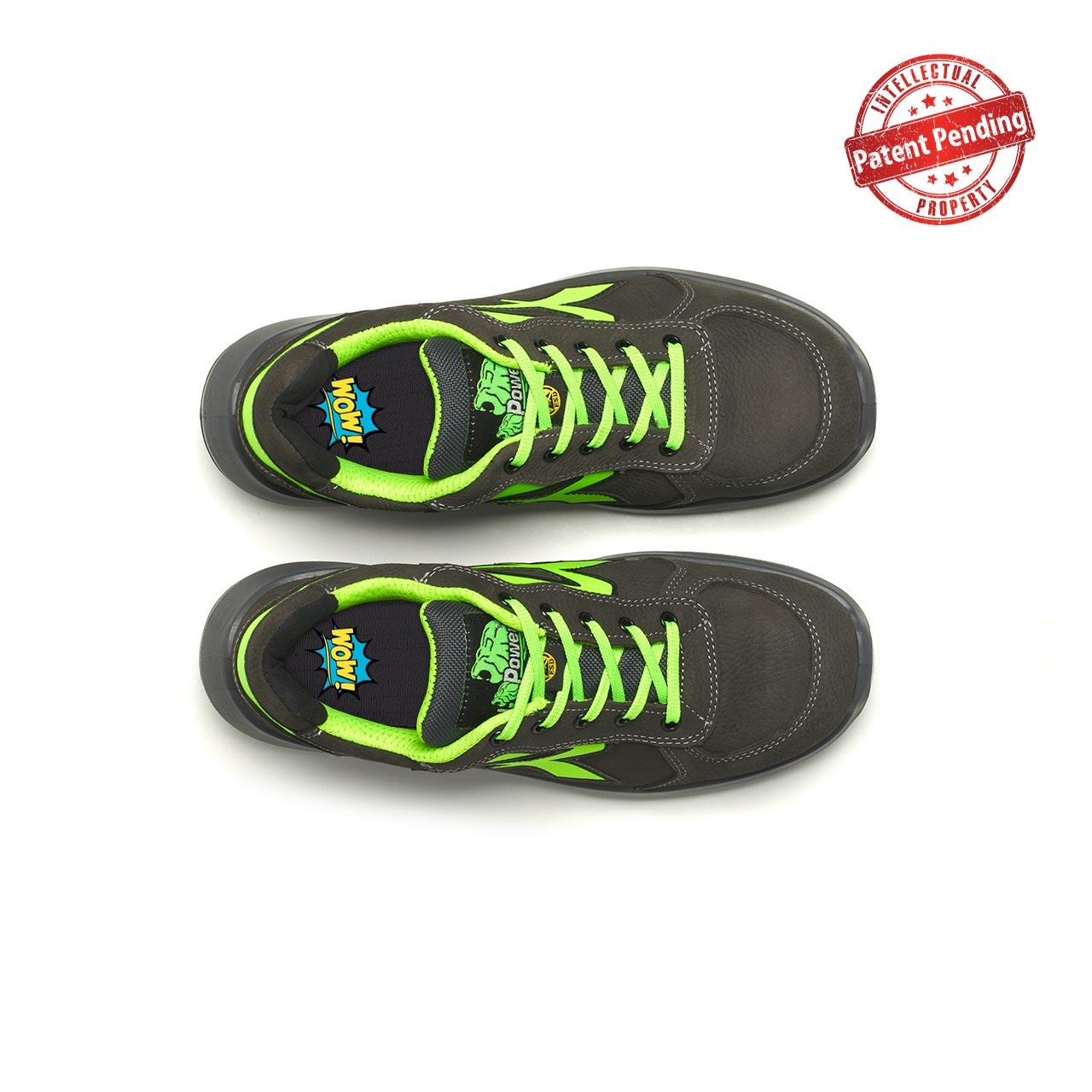 paio di scarpe antinfortunistiche upower modello hydra linea redup vista top