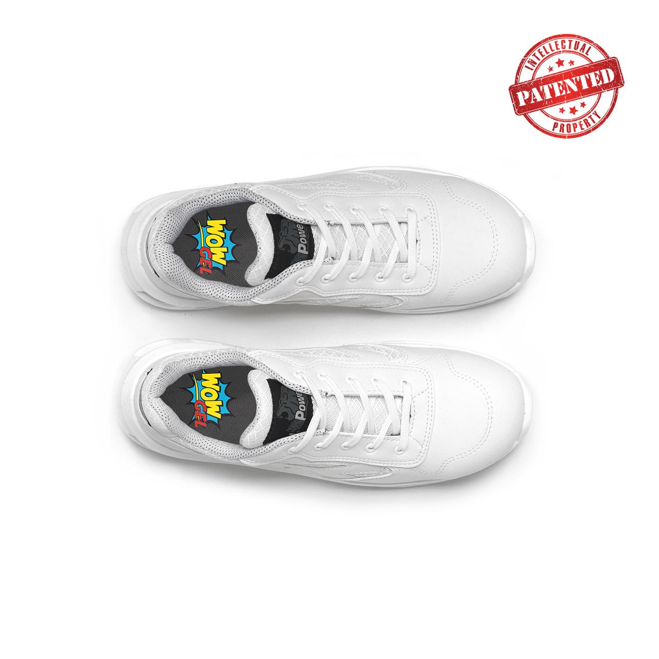 paio di scarpe antinfortunistiche upower modello june linea redlion vista top