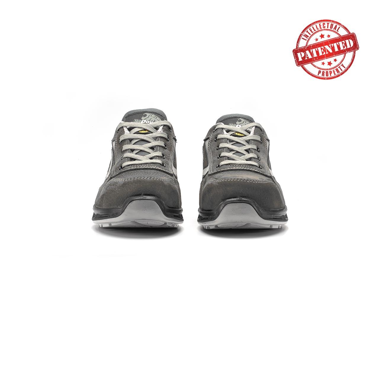 paio di scarpe antinfortunistiche upower modello kick linea redlion vista frontale