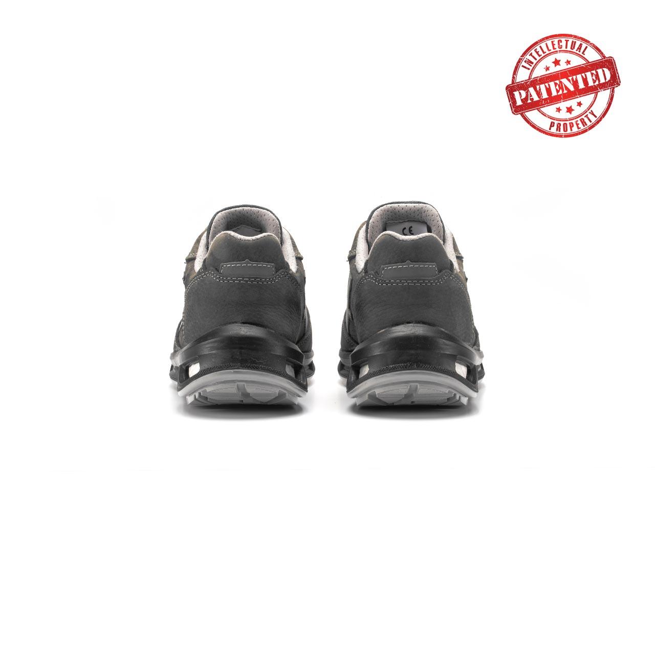 paio di scarpe antinfortunistiche upower modello kick linea redlion vista retro