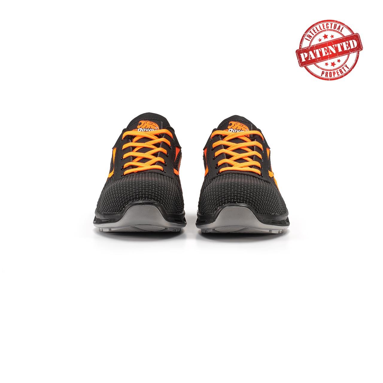 paio di scarpe antinfortunistiche upower modello kindle linea redlion vista frontale