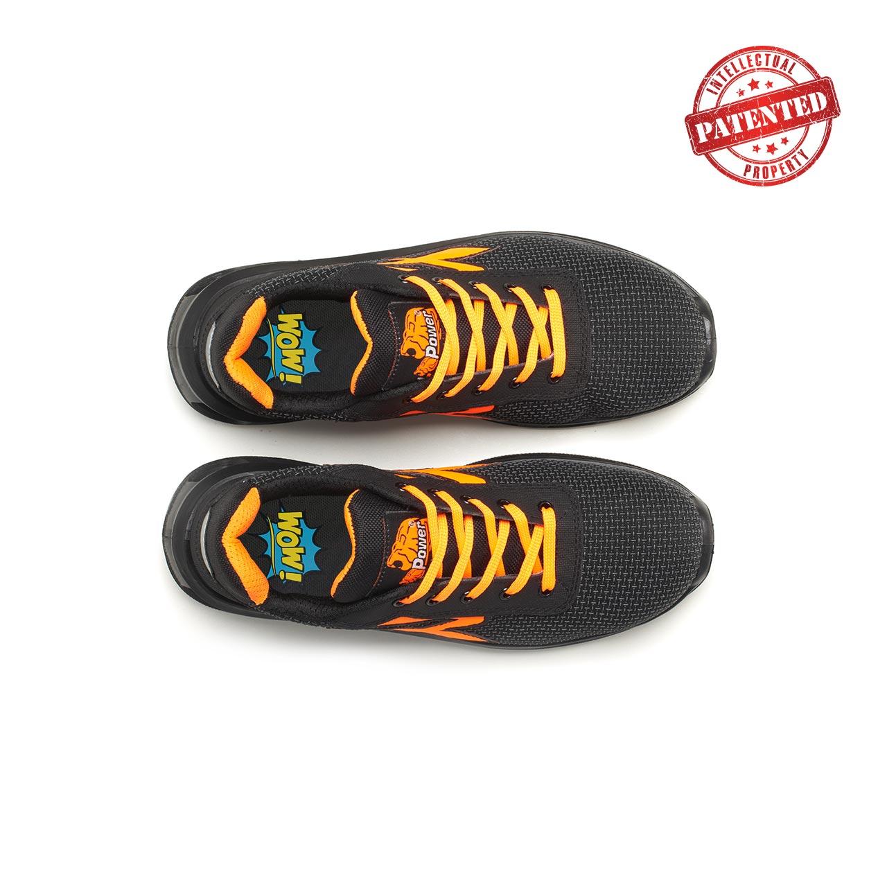 paio di scarpe antinfortunistiche upower modello kindle linea redlion vista top