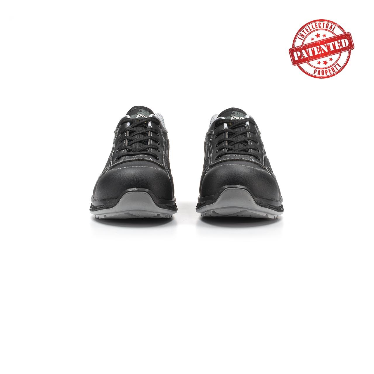 paio di scarpe antinfortunistiche upower modello linkin linea redlion vista frontale