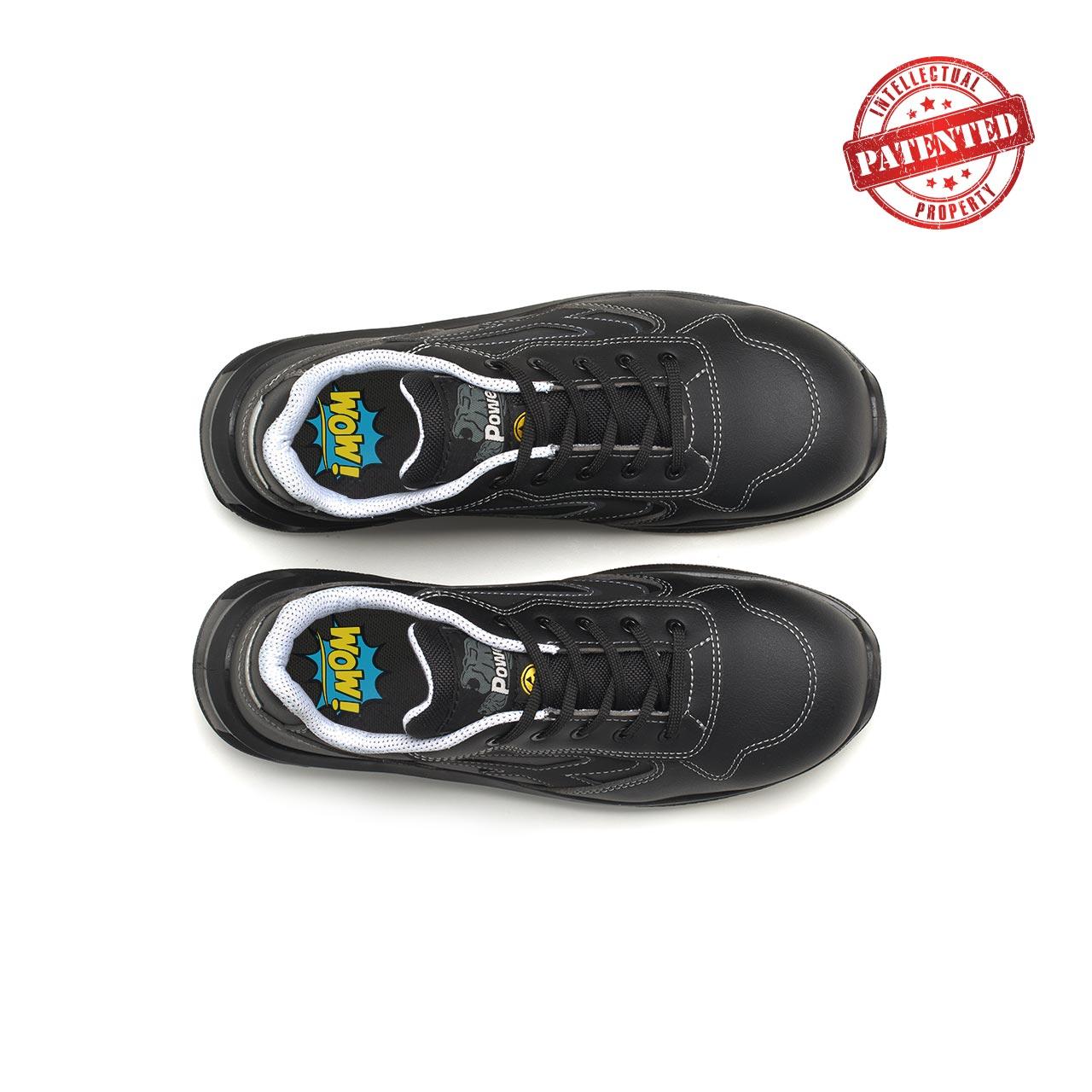 paio di scarpe antinfortunistiche upower modello linkin linea redlion vista top