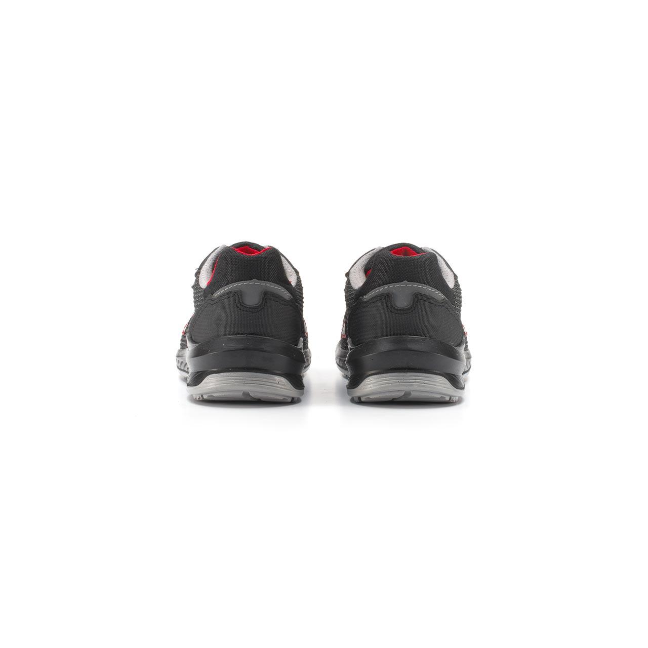 paio di scarpe antinfortunistiche upower modello lisbona linea redindustry vista retro