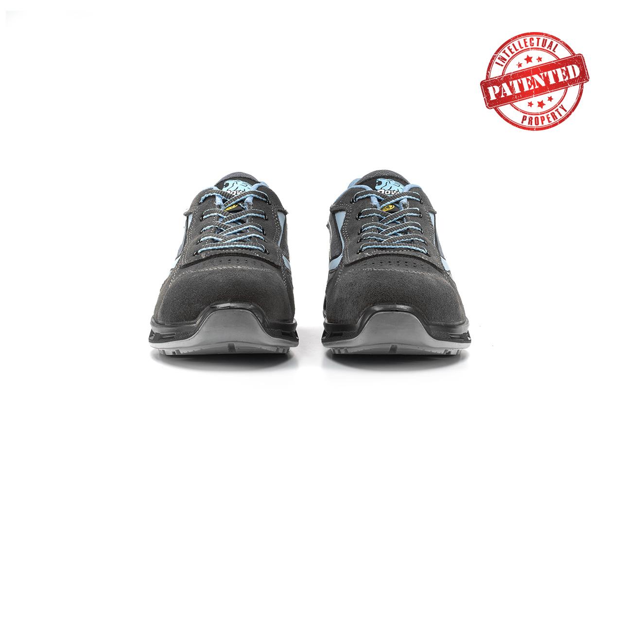 paio di scarpe antinfortunistiche upower modello lolly linea redlion vista frontale