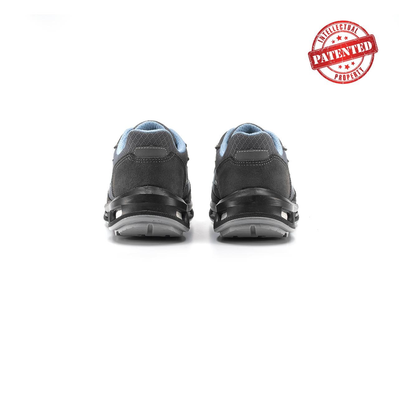 paio di scarpe antinfortunistiche upower modello lolly linea redlion vista retro